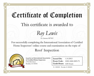 High Springs Home Inspector