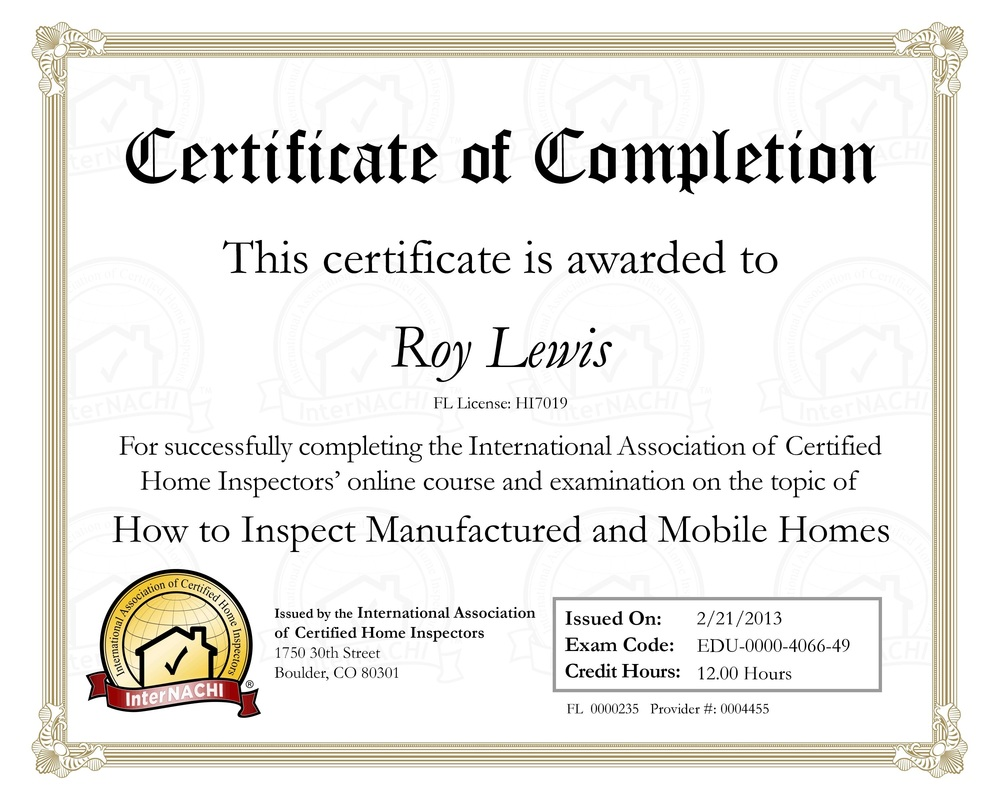 real estate Inspection Gainesville