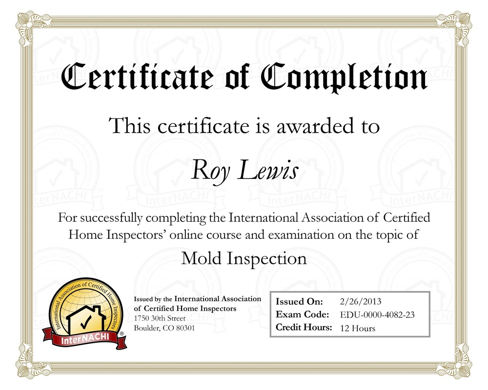 Gainesville-High Springs Home Inspection